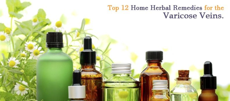 TOP 12 HOME HERBAL REMEDIES FOR THE VARICOSE VEINS